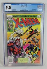 Marvel Comics 1977 X-Men #104 1st Appearance Star Jammers Cameo CGC Graded 9.0