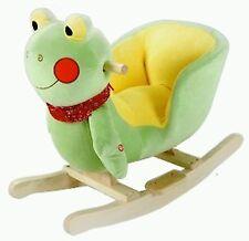 Plush Frog Baby Rocking Chair Kids Toy Ride Rocker Plush Toddler