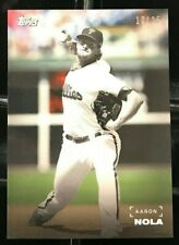 Aaron Nola 2019 Topps On Demand Black & White Color Background #d 13/25 PHILLIES