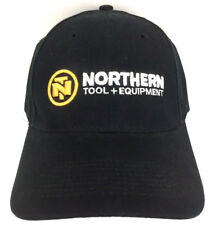 Northern Tool Equipment Hat Script Logo Cap Advertising Baseball Trucker Black