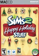 Sims 2 - Happy Holiday Stuff - Mac Macintosh Apple Aspyr Computer Expansion Pack