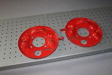 Fiat 500 Bremsankerplatte Paar hinten Bremse