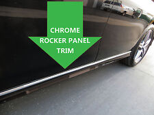 CHROME ROCKER PANEL Body Side Molding Trim 2pc - cadillac