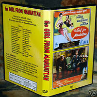 THE GIRL FROM MANHATTAN - DVD - Dorothy Lamour