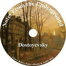 Notes From The Underground, Audiobook by Fyodor Dostoyevsky on 1 MP3 CD
