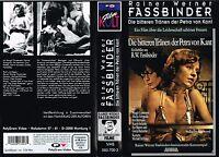 (VHS) Die bitteren Tränen der Petra von Kant - Margit Carstensen,Hanna Schygulla