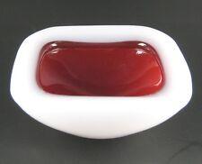 MURANO alabastro POSACENERE IN VETRO 50er 60er anni design ashtray