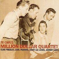 ELVIS PRESLEY The Complete Million Dollar Quartet CD NEW w/ Perkins/Lewis/Cash