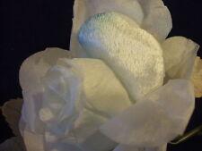 """Vintage Millinery Flower Velvet Rose 4"""" Hint Blue Trim for Hat GR17"""