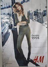 V071 Werbeplakat ca. 120 x 160 cm Gisele Bündchen - H&M France