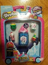 Shopkins World Vacation Americas Season 8 5-Pack Tayler Tee New Sealed