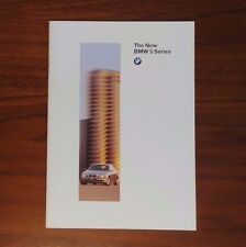 BMW 5 SERIES E39 528i 540i BROCHURE 1997 COLLECTIBLE ADVERTISING BIMMER GERMANY