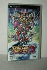 SUPER ROBOT WARS TAISEN A PORTABLE USATO OTTIMO SONY PSP ED GIAPPONESE VBC 51179