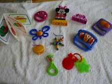 10 Set Baby Kind Spielzeug  Rassel Greifling Quietschbuch Beißring  Top