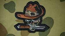 NEW AUSTRALIAN SLOUCH HAT SKULL DAGGER ARMY KHAKI TACTICAL MORALE PATCH AUSSIE