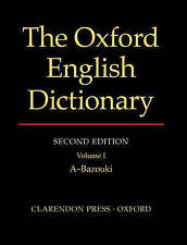 The Oxford English Dictionary: Vols 1-20 by Oxford University Press (Hardback, 1989)
