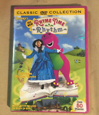 Barney's Rhyme Time Rhythm (DVD) Featuring Mother Goose, BJ, Baby Bop, NEW!
