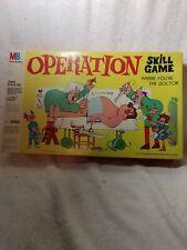 Milton Bradley  Operation Skill Game