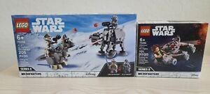 LEGO Star Wars ~ NEW: #75298 AT-AT vs. Tauntaun & #75295 Millennium Falcon