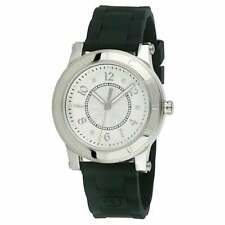 Juicy Couture 1900832 Black Jelly Band Stainless Steel Case Watch