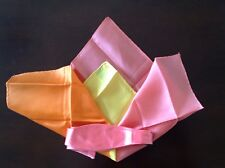 BOW TIE AND 4 PANEL SILK POCKET SQUARE SET **BRAND NEW