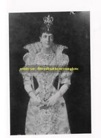 "mm156 - Queen Alexandra wife King Edward VII  - Royalty photo 6 x 4"""