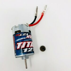 Traxxas Summit 1/16 XL-2.5 Titan 12T 550 Motor with 21T Pinion - 1/16th 2421 New