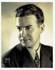 VINTAGE 1930's ORIGINAL  PROMO PHOTO +KENNETH MORROW + BROADWAY SINGER