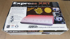 Adtran 1200.153L2 Express XRT 128,000 bps ISDN Modem With Two Phone Ports