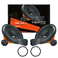 Hertz DSK165.3 Kit Casse Altoparlanti Anteriori = Posteriori Per Peugeot 308 07>