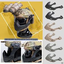 FMA Tactical Rail Folding Arm Half Face Mask For Helmet Universal Protective