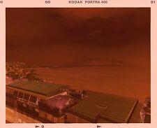 "Unique ""Rainbow crowning Vesuvius"" photo on 6x7 color negative film"