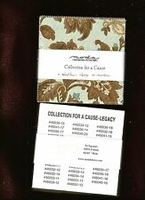 """Moda LEGACY by Howard Marcus Charm Pack - 44 5"""" Quilt Squares - OOP"""