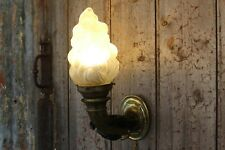 Rare Antique/Vintage French Bronze Hollywood Regency Hand Wall sconce Working