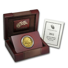 2012-W 1 oz Proof Gold Buffalo Coin - with Box and Certificate - SKU #66872
