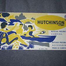 282D Ancien Buvard Hutchison Imp Diéval Paris