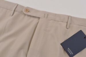 Incotex NWT Casual Pants / Chinos Size 35 Mach Fit In Solid Light Tan Cotton