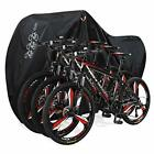 Bicycle Cover with Lock Hole Reflective Safety Loops for 29er Mountain Black