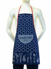 Kids French Apron Le Petit Chef - The Little Chef Opinel 100% Cotton - France