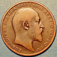 United Kingdom. One Peny 1903 -  Edward VII King