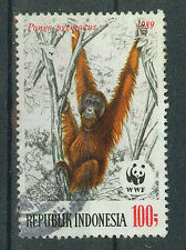Briefmarken Indonesien 1989 Naturschutz Mi.Nr.1292