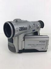 Sharp Vl-Wd255 Vl-Wd255U MiniDv Mini Dv Camcorder (Untested)