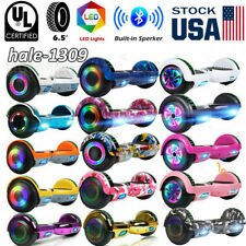 "6.5"" Bluetooth Hoverboard Self Balancing Electric Scooter LED UL no Bag Outdoor"
