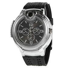 Mens Lighter Wrist Watch Refillable Butane Cigarette Cigar Electronic Torch