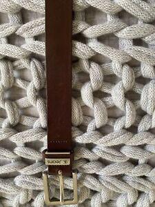 CK Leather Brown Belt 90cm