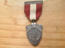 Antique Private Fire Brigades Corporation Of London Challenge Shield Medal
