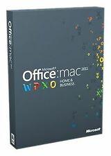 Office für Mac 2011 Home & Business (1 Pack /... | Software | Zustand akzeptabel