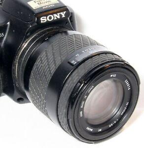 AF Tele-Macro Objektiv 70-210mm f Sony Alpha 68 55 37 35 390 580,290,65,77,58,99