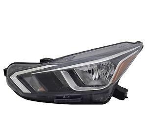 FIT NISSAN VERSA 2020 BASE S SR SV LEFT DRIVER HEADLIGHT HEAD LIGHT LAMP HALOGEN