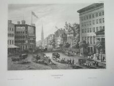 1850 UNUSUAL ORIGINAL NEW YORK CITY UNITED STATES - FOUR nice engravings